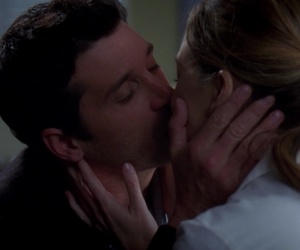 derek, greys anatomy, and kiss image