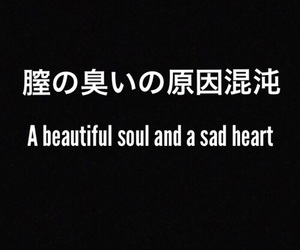 japanese, quote, and sad image