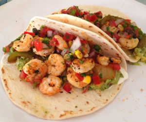 mexican, recipe, and shrimp image