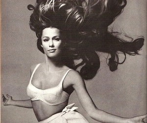 brunette, dance, and hair image
