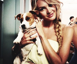 candice swanepoel, dog, and model image