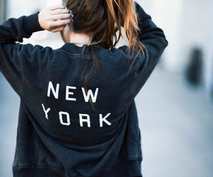 fashion, new york, and girl image