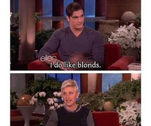 ellen, funny, and blond image