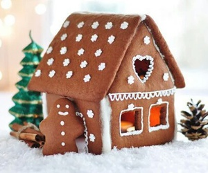 christmas, gingerbread, and food image