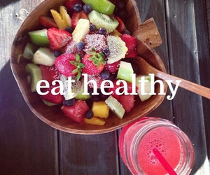 fitness, fruit, and healthy image