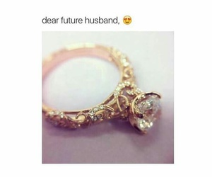 ring, husband, and wedding image