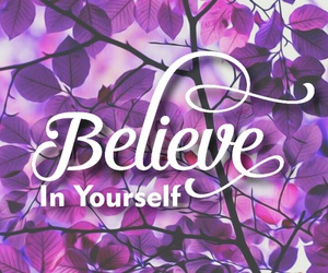 believe, quote, and wallpaper image