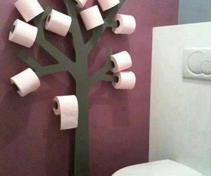 tree, diy, and toilet image