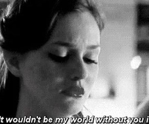 love, gossip girl, and black and white image