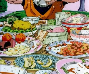 chicos, food, and dragon ball z image