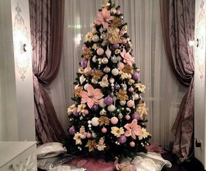 christmas tree and new year image