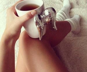 tea, angel, and cup image