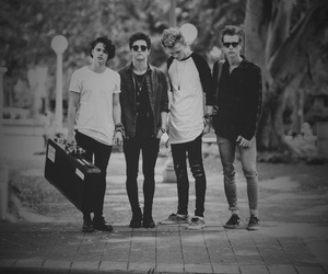 the vamps and black and white image