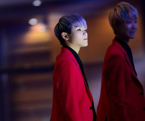 woozi, kpop, and Seventeen image