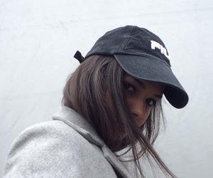 beautiful, cap, and hide image