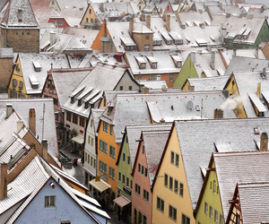 germany, Houses, and winter image