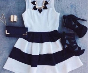 ashion, dress, and outfit image