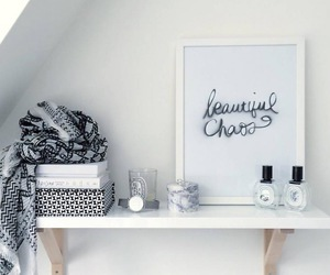 black and white, decoration, and design image