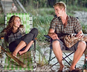 miley cyrus, the last song, and liam hemsworth image
