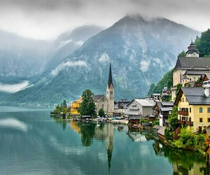 austria, hallstatt, and photography image