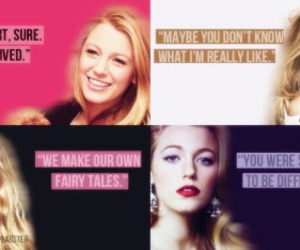 beautiful, blair, and blake lively image