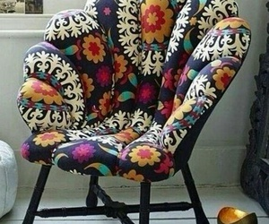 armchair, colorful, and home decor image