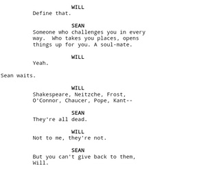 script, good will hunting, and screenplay image
