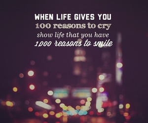 cry, quote, and smile image