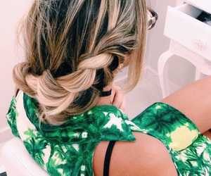 blonde, braid, and brazil image