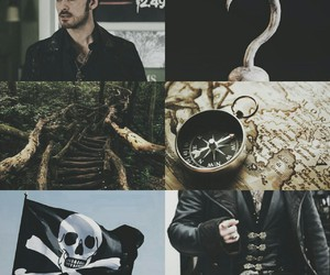 aesthetic, once upon a time, and captain hook image