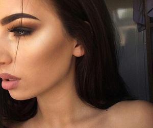 beautiful, cool, and eyebrow image