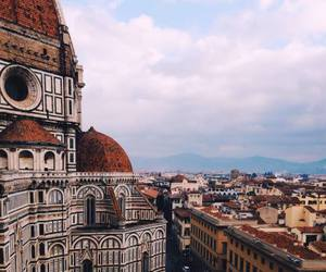 florence, sky, and church image