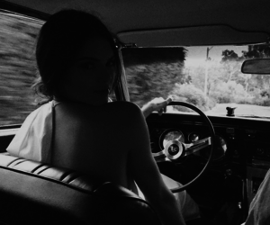 kendall jenner, Kendall, and black and white image