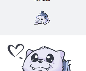 bulbasaur, pokemon, and dewgong image