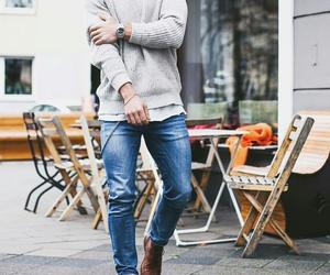 blogger, cardigan, and dress image