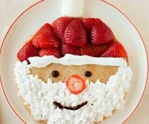 biscuits, santa claus, and sweet image