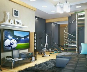 technology, bedroom, and gaming image