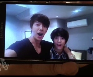 donghae, super junior, and jeno image