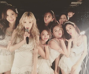 snsd, chanyeol, and girls generation image