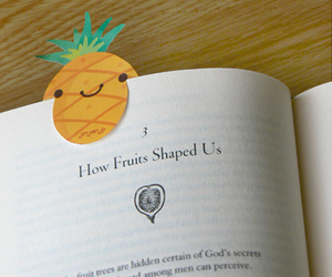 book and fruit image