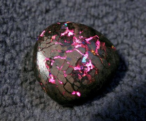 gems, black, and nature image