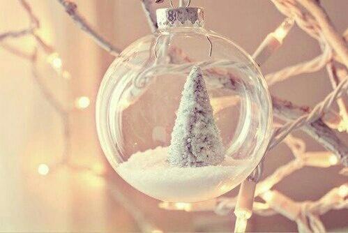 ball, lights, and snow image