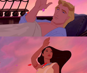 film, pocahontas, and disney image