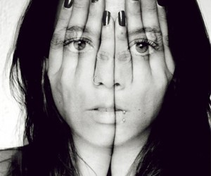 face, hands, and photography image