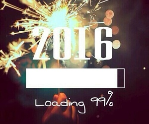2016, new year, and happy new year image