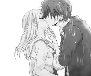 156 images about cute anime couples 3 on we heart it see more kiss manga and anime image altavistaventures Image collections