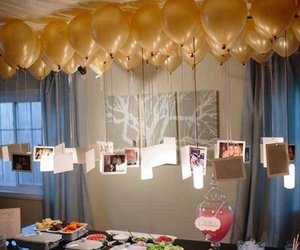 balloons, party, and ideas image