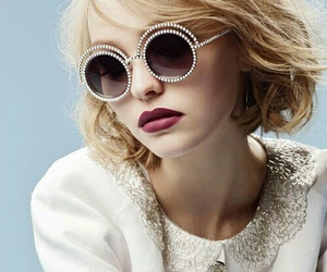 chanel, model, and lily-rose depp image