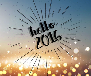 2016, hello, and newyear image