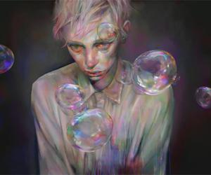art and bubbles image